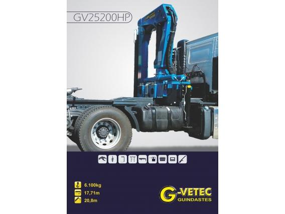 Guindaste G-Vetec Gv 25200