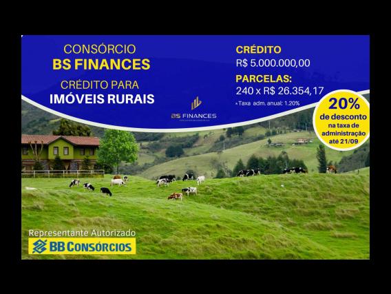 Imóvel Rural BB Consórcios