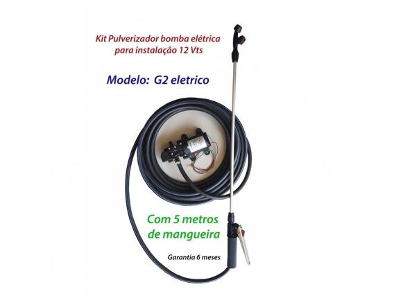 Kit Pulverizador Bomba Elétrica G2 Com 1 Pistola