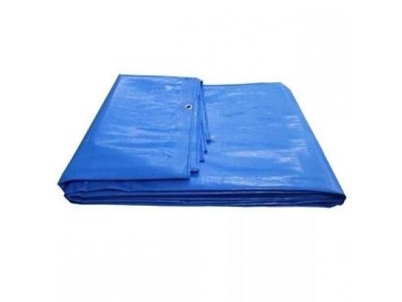 Lona Plastica Kala 4 X 3M Azul Luva Multitato