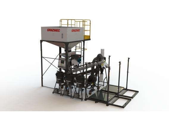 Máquina Tratadora De Sementes Mts 120 Pro