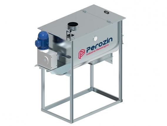Misturador De Ração Horizontal Mh-500 Perozin