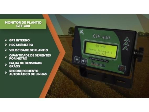 Monitor De Plantio Conta Sementes Terris Gtf-400