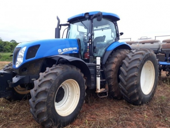 New Holland Nh, T7.245, Ano 2014, Horas 5.110,