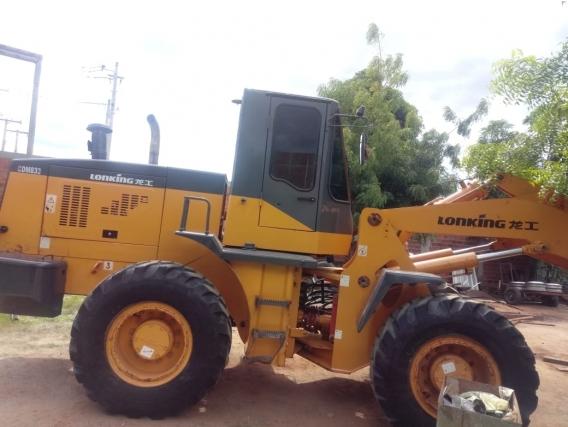 Pá Carregadeira Lonking 833 2011