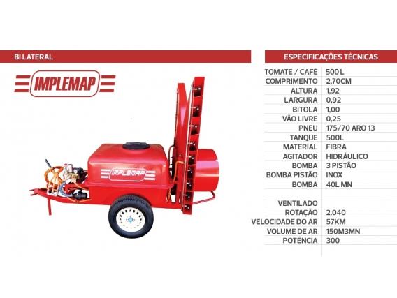 Pulverizador Implemap Bi-Lateral