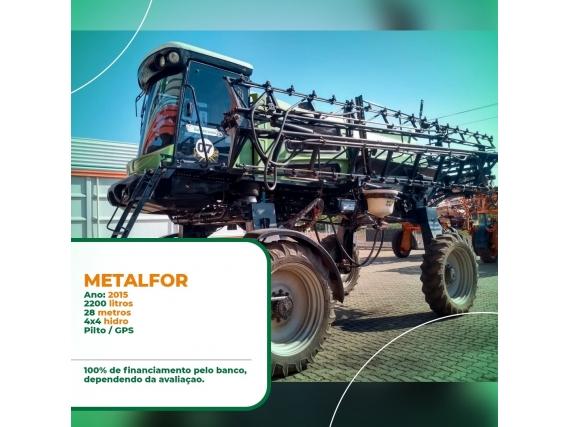 Pulverizador Metalfor Ano 2015
