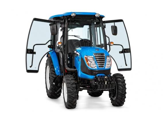 Trator 65 CV - LS Tractor R65 Cabinado 4X4
