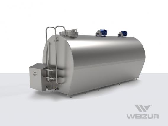 Resfriador De Leite Horizontal Fechado Weizur