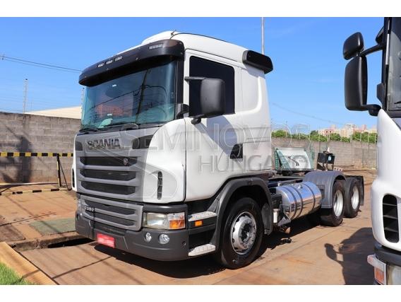 Caminhão Scania G380 6X2 2010/2011