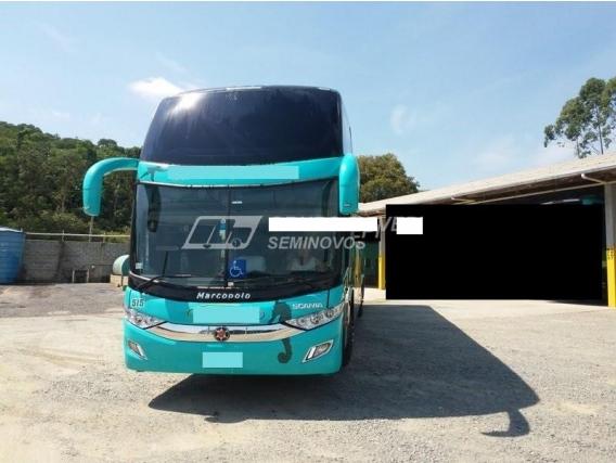 Scania K400 6X2 Ld Carroc Marcopolo G7 44Lug Ano2016