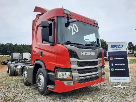 Scania P320 8X2 2020 Bitruck