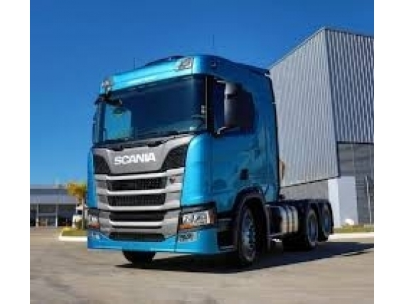 Scania R450 6X2 Completa Graneleira 3 Eixos 2019