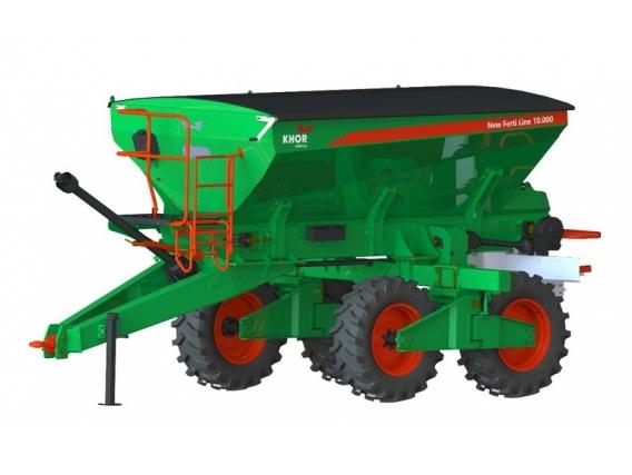 Distribuidor De Fertilizantes Kuhn Khor New Ferti Line 10000