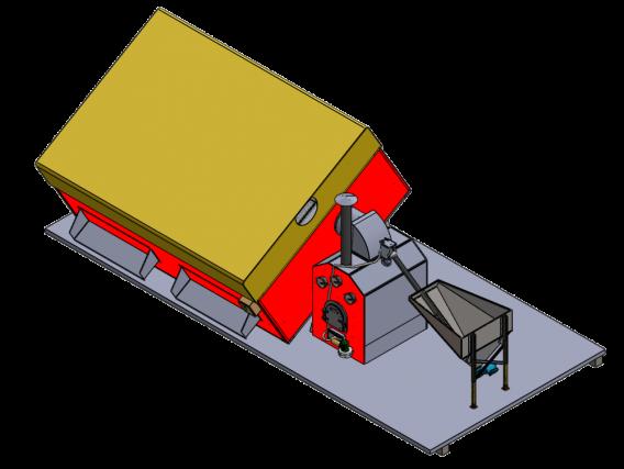 Secadora De Café Redivo Standart Sar-22