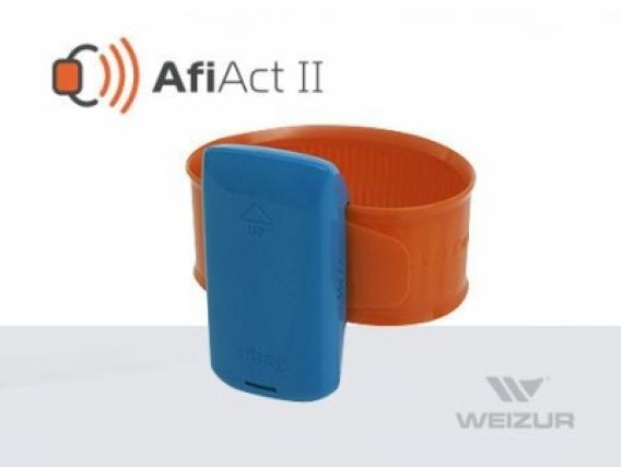 Pedômetro AfiAct II – Identificação de animais / Detecção de CIO Weizur