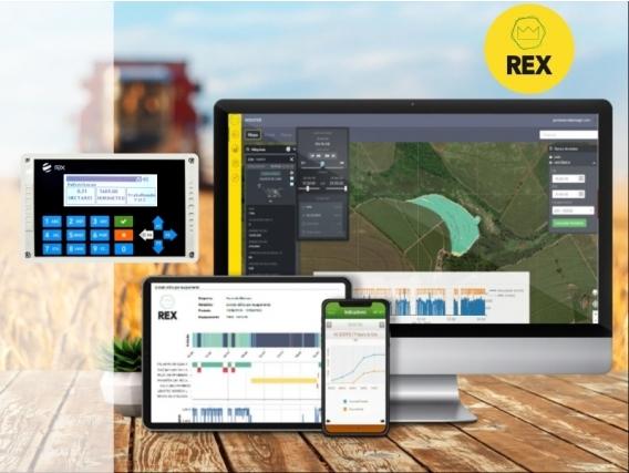 Sistema De Monitoramento De Operações Agrícolas REX