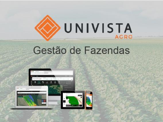 Software Sgs Univista Agro - Gestão De Fazendas