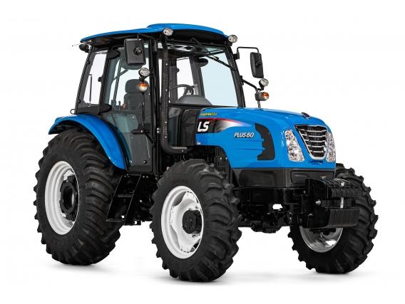 Trator 80 CV - LS Tractor Plus 80 Cabinado 4X4
