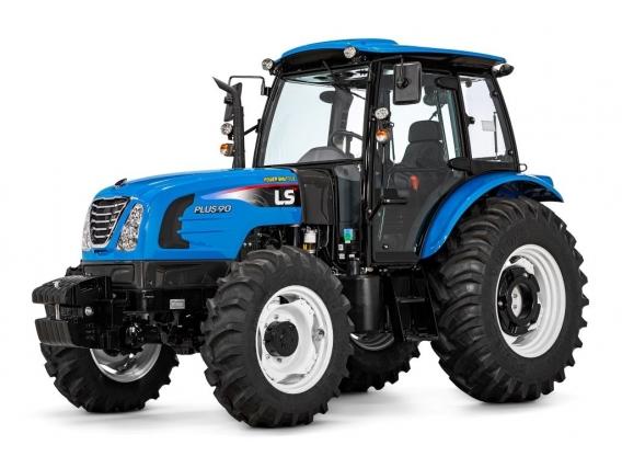 Trator 90 CV - LS Tractor Plus 90 Cabinado 4X4