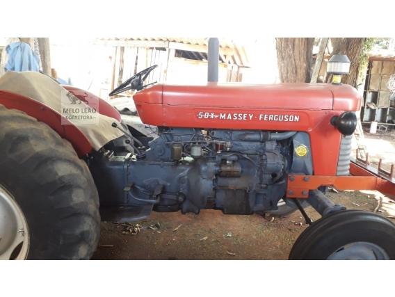 Trator Massey Ferguson 50X - Ano 1973