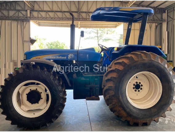 Trator New Holland 7630 Ano 2016