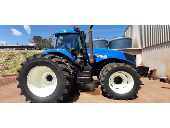 Trator New Holland T8.385 Ano 2016