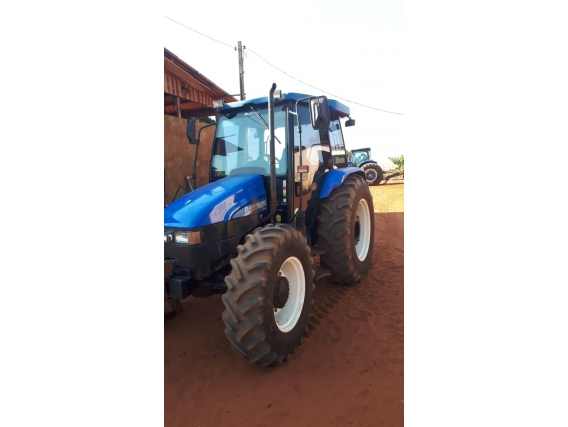 Trator New Holland Tl 95 Ano 2014
