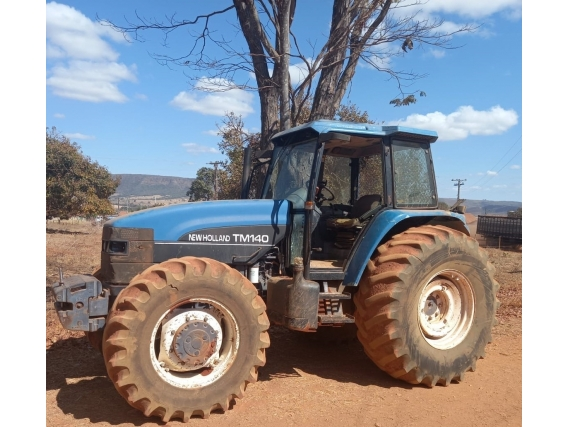 Trator New Holland Tm 140, Ano 2000