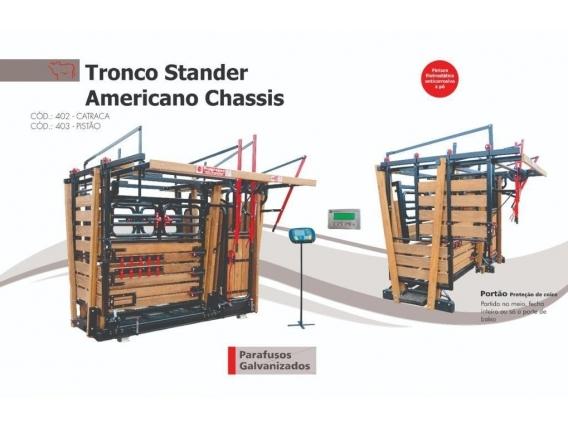 Tronco Stander Americano Chassis Troncos Progresso