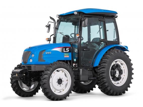 Trator 65 CV - LS Tractor U60 Cabinado 4X4