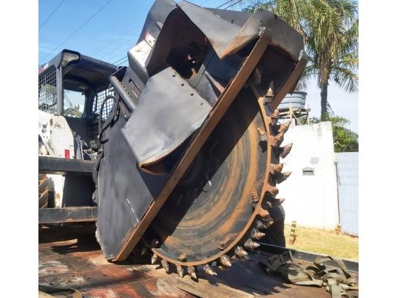 Valetadeira Asfalto E Concreto Bobcat Ws24 2015