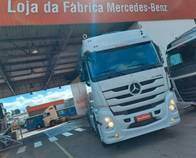 Caminhão Mercedes-Benz Actros 2546 Ano 2018