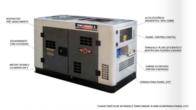 Gerador À Diesel Tdwg12000Sge-N Refrigerado A Água Monof. 10Kw Bi-Volt Cabinad - Toyama