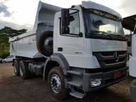 Caminhão Mb Axor 2831 6X4 - 2011 Trucado Caçamba.