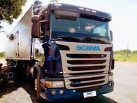 Caminhão Scania G 420 6X4 Mola