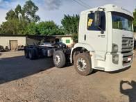 Caminhão Vw 24.250 6X2 4 Eixo Ano2009 No Chassi