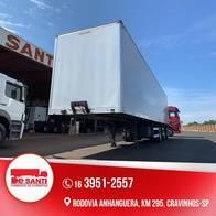 Carreta Bau Aluminio Vanderleia 2019 Com Pneu