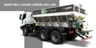 Distribuidor De Fertilizantes Mp Agro Taurus Truck
