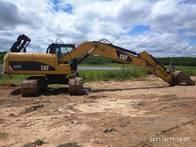 Escavadeira Caterpillar, Modelo 320Dl, Ano 2011