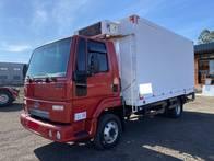 Ford Cargo 816S 4X2 2013 Com Baú Frigorífico Gancheiro