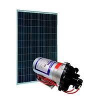 Kit Bomba De Água Solar Shurflo 8000