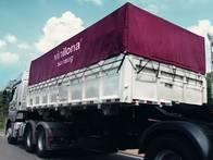 Lona Para Caminhão -Atóxica Para Transporte De Uvas