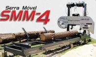 Mini Serraria Móvel Smm 1 Sem Motor - Maquinafort