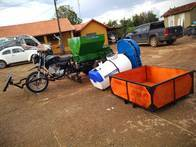 Triciclo pra pulverizar Tuka