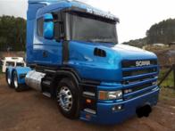 Caminhão Scania 124 360 com Bomba