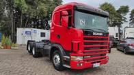 Scania R 124 400 6X2 Freio Retarder, Injeção Eletrônica
