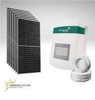 Sistema Completo De Energia Solar Para Granja