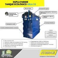 Tanque Ecológico Dupla Parede Para Arla32